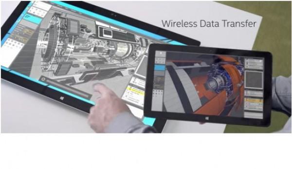 Intel en dit un peu plus sur son projet d'informatique sans fil�bas� sur la technologie WiGig qui permet transfert de donn�es et recharge�sans fil.