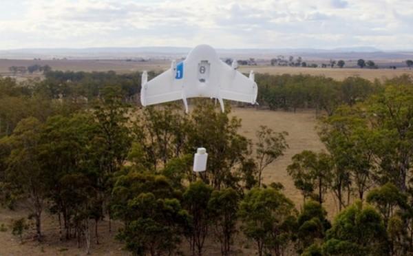 Google a pr�sent� Project Wing 1, son prototype de drone capable de livrer des colis.