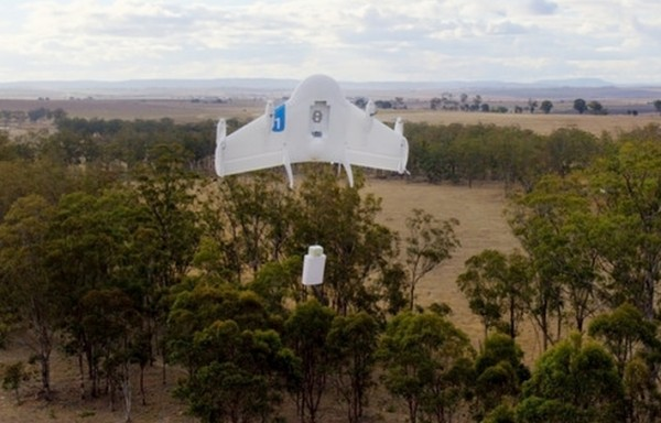 Google a pr�sent� Project Wing 1, son prototype de drone capable de livrer des colis.