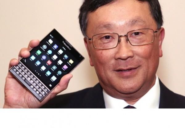 Blackberry joue gros en lan�ant son nouveau smartphone Passport et tente de se diff�rencier de l'iPhone 6.