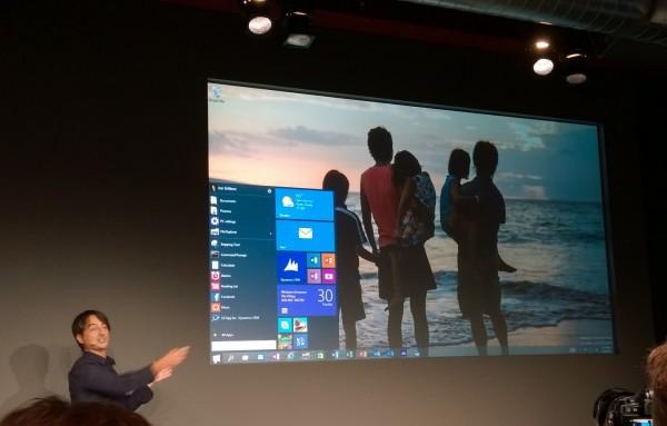 Attendu en 2015, Windows 10 tournera indiff�remment sur tous types de terminaux mobiles et fixes d'une diagonale d'�cran comprise entre 4 et 80 pouces.