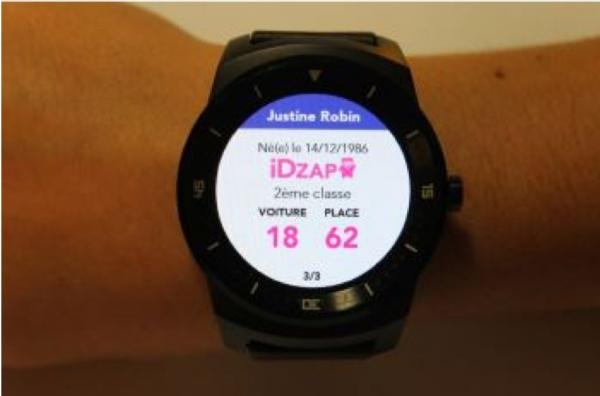 Apr�s les lunettes connect�es pour les contr�leurs, la SNCF lance une app pour smartwatchs, cette fois pour les voyageurs.