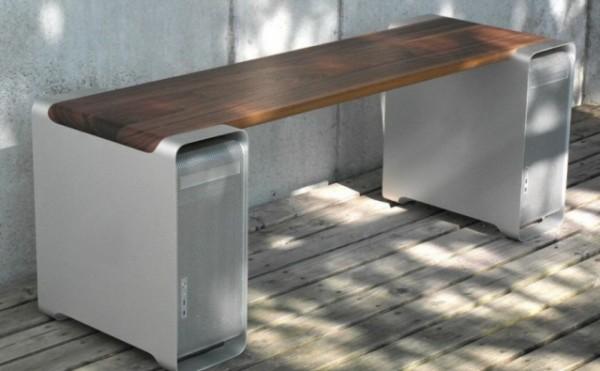<p>L'aluminium des anciens Mac Pro est une tr�s bonne base pour cr�er une foule d'objets du quotidien comme un banc public ou un barbecue.</p>