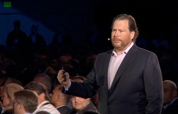 Microsoft �tudie le rachat de Salesforce.com, dirig� par Marc Benioff.