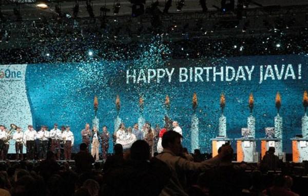 Oracle vient de f�ter les 20 ans de Java.