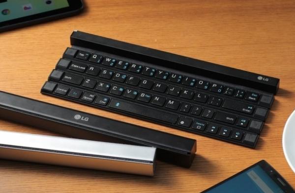 LG va pr�senter � l'IFA 2015 un clavier d�roulable Bluetooth 3.0.