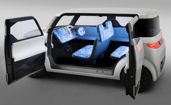 Le concept de voiture �lectrique et connect�e Teatro for Dayz de Nissan sera pr�sent� au Tokyo Motor Show � partir du 30 octobre.