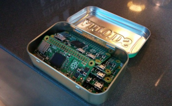 Apr�s le Pi 1, Raspberry frappe encore un grand coup avec une mini-carte baptis�e Pi Zero et commercialis�e 5$ HT.