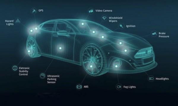Bard�es de capteurs, les automobiles se pr�parent � passer � la conduite autonome.