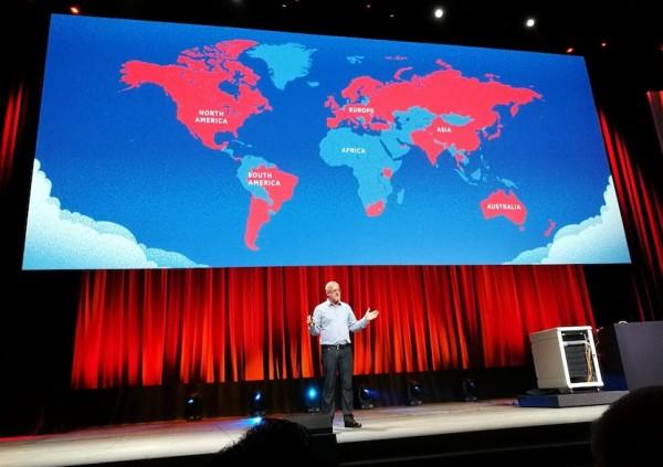 Les contributeurs OpenStack sont tr�s pr�sents � Seattle et dans la Silicon Valley mais �galement en Asie et en Europe.