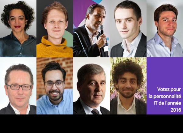 Votez pour la personnalité IT 2016 parmi les 9 candidats sélectionnés par la rédaction du Monde Informatique !
