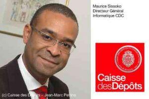 Maurice Sissoko devient patron de l'informatique de la Caisse des Dépôts
