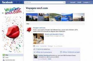 Voyages-SNCF facilite l'organisation de voyages entre amis via Facebook
