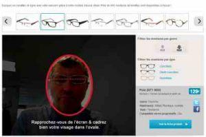 en ligne ici divers styles 100% de qualité supérieure L'essai virtuel de lunettes, dernière mode chez les ...