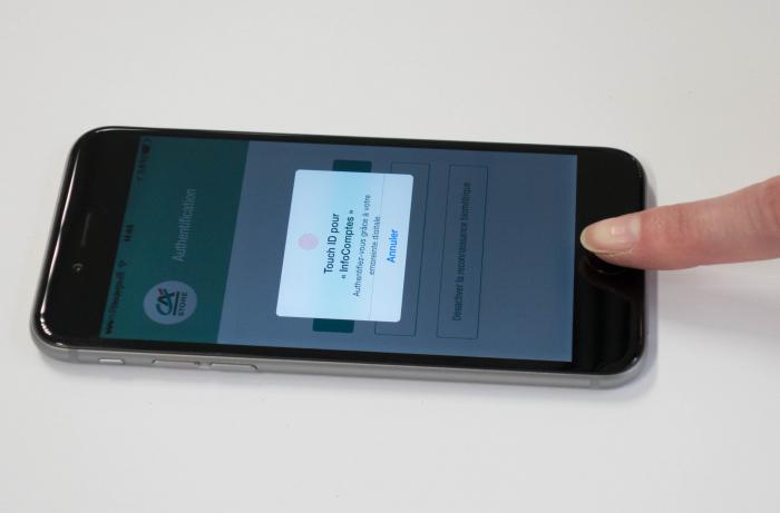 Le Crédit Agricole teste la TouchID de l'iPhone pour l'authentification mobile de ses clients