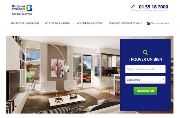 Bouygues Immobilier augmente le taux de visite de son site de 65%