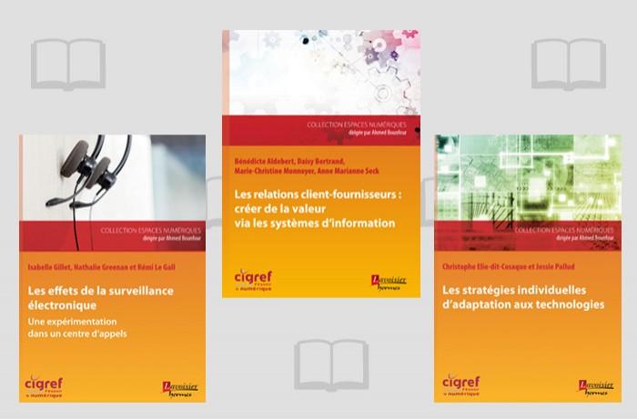 Le Cigref et les éditions Lavoisier publient trois ouvrages sur la transformation numérique