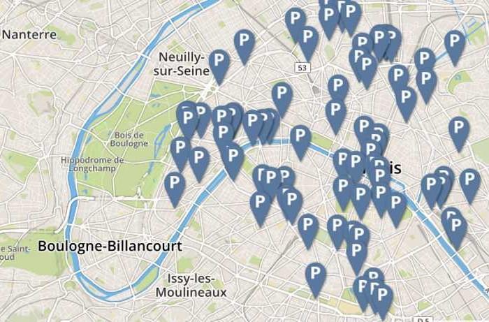 La SAEMES ouvre ses données sur le stationnement parisien
