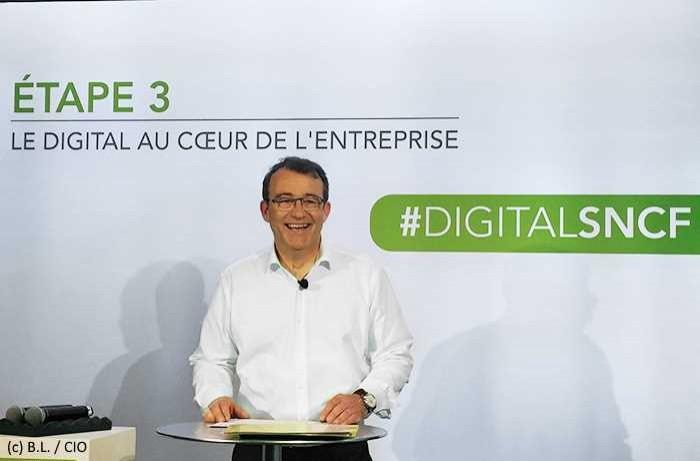La SNCF industrialise son digital avec 900 millions d'euros sur trois ans