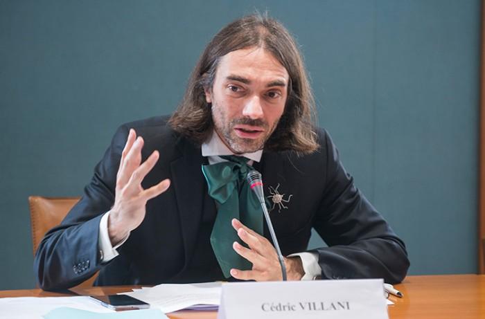 Cédric Villani élu président de l'Opecst