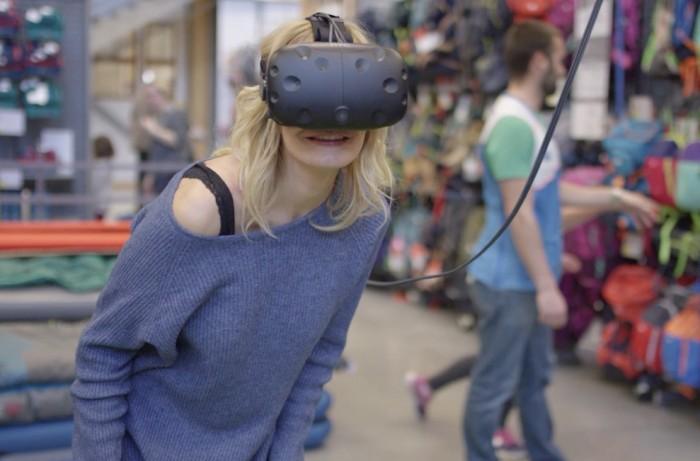 Chez Decathlon, les tentes se visitent en réalité virtuelle