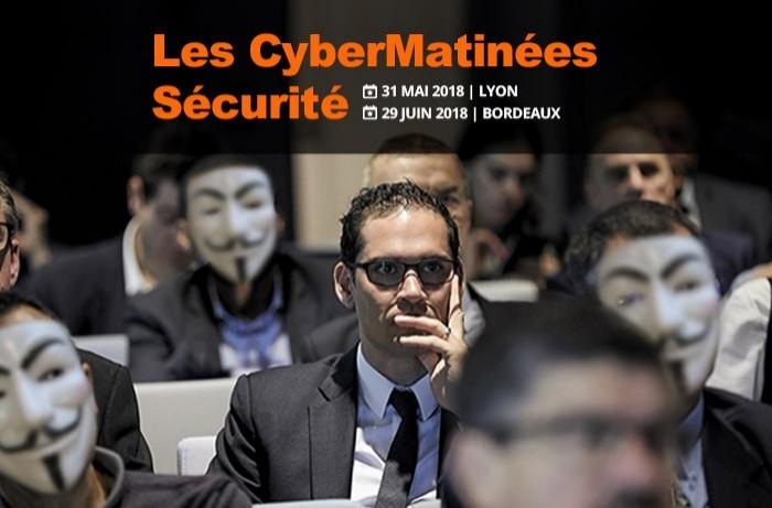 Le RSSI d'April et le DSI de Gerflor témoigneront sur la CyberMatinée Sécurité à Lyon le 31 mai