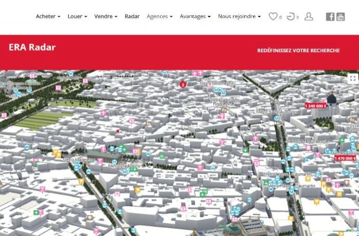 Era Immobilier promeut la cartographie 3D et la visite immersive