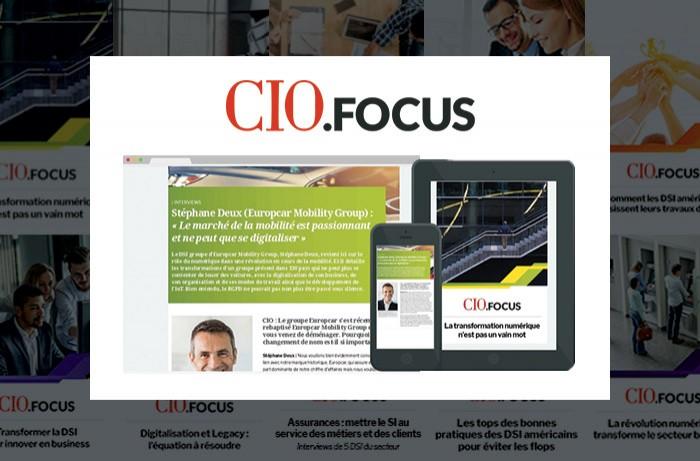 CIO.Focus : 4 grandes interviews pour seulement 50 crédits