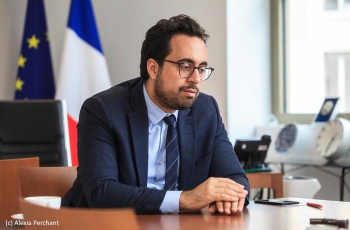 Mounir Mahjoubi: sortir pour Paris