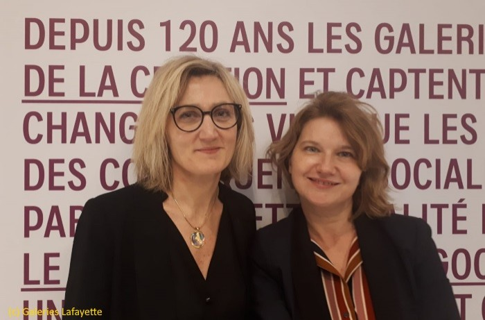 Les Galeries Lafayette digitalisent la relation client dans le magasin des Champs Elysées