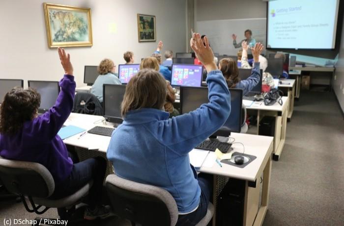 Se former au numérique vécu comme nécessaire à l'employabilité