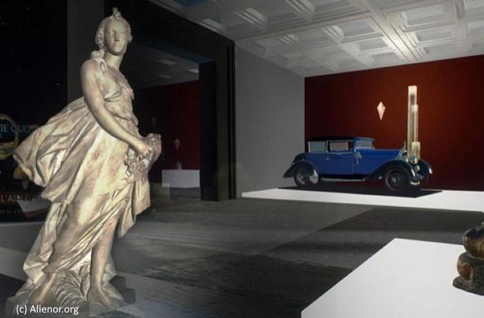 Scanning 3D et multimedia pour visiter virtuellement des musées aquitains