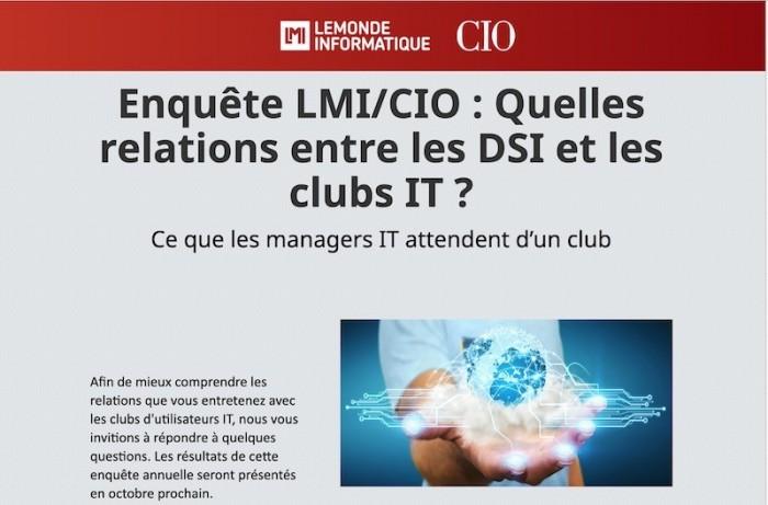 Clubs utilisateurs IT : répondez à notre enquête