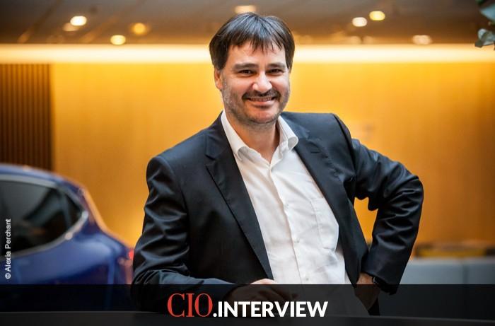 Frédéric Vincent (DSI du groupe Renault): «nous vivons aujourd'hui une période passionnante pour les informaticiens dans le secteur automobile»