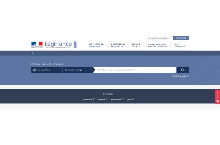 Le nouveau Legifrance testé en version beta publique