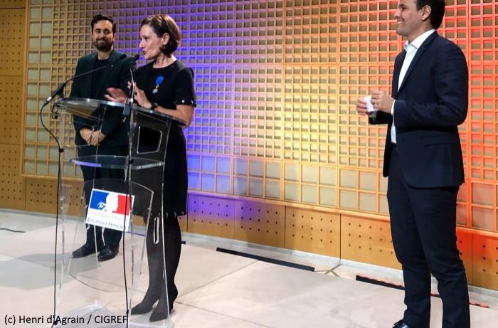 Françoise Mercadal-Delasalles reçue officier de l'Ordre National du Mérite