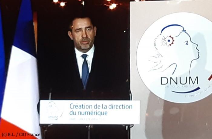 Christophe Castaner (Ministre de l'Intérieur): «la DNum est une pierre pour construire le ministère de l'Intérieur du XXIème siècle»