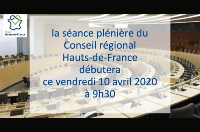 Pendant le confinement, la région Hauts-de-France a tenu un conseil virtuel