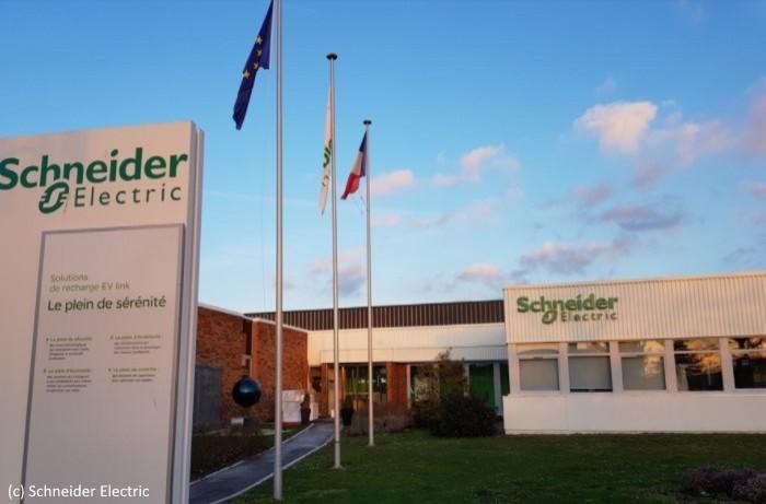 Schneider Electric dote une usine d'un réseau privé 4G/5G