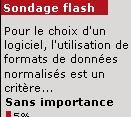 Sondage flash : la normalisation des formats est un critère clé du choix des logiciels