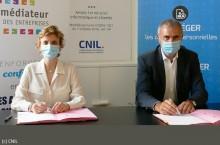 La CNIL et le Médiateur des entreprises signent une convention pour régler les litiges RGPD