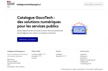 La DINUM partage un catalogue d'applications recommandées