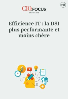Efficience IT : la DSI plus performante et moins chère