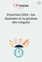 Priorités 2016 : les données et la gestion des risques