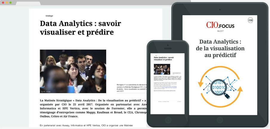 Data Analytics : de la visualisation au prédictif