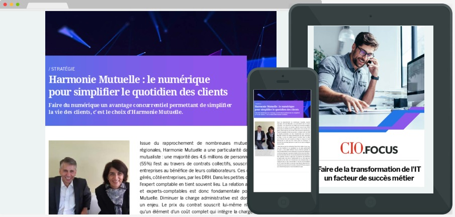 Faire de la transformation de l'IT un facteur de succès métier