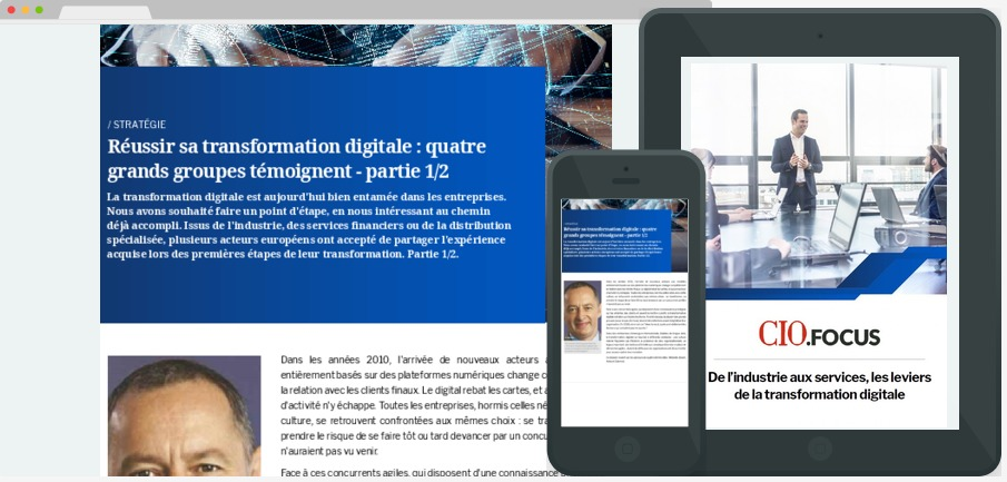 De l'industrie aux services, les leviers de la transformation digitale