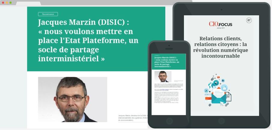 Relations clients, relations citoyens : la révolution numérique incontournable
