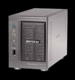 Deux serveurs de stockage pour TPE - ReadyNAS Duo v2 et NV+ - Netgear