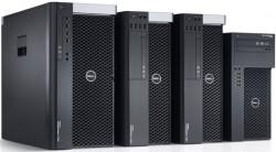 Dell lance 4 stations de travail au format tour - Precision T7600, T5600, T3600, T1650 - Dell